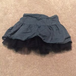 Girls Mini Jean Skirt 2T